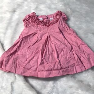 Infants Pink Cotton Dress